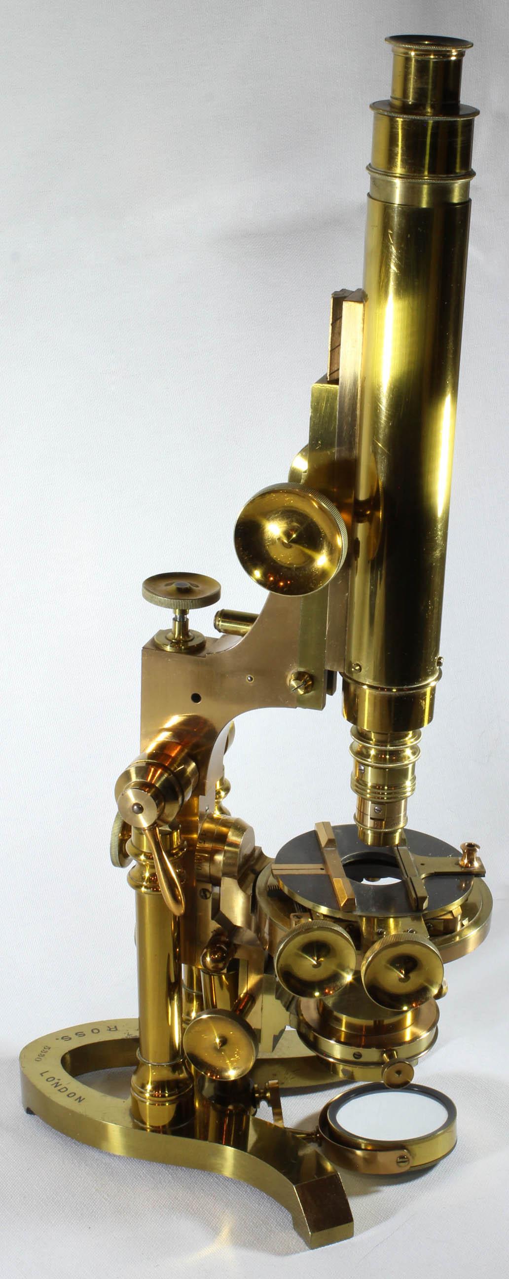 ROSS ZENTMAYER MONOCULAR MICROSCOPE