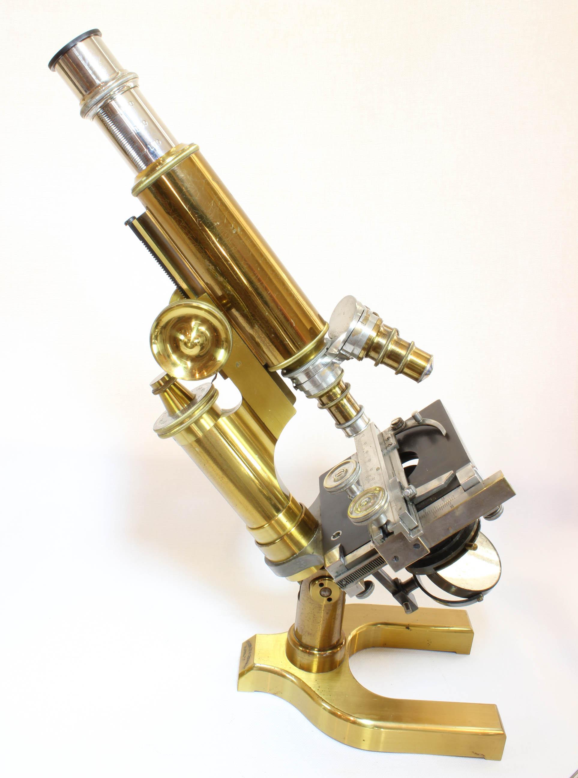 SPENCER No 1 MICROSCOPE